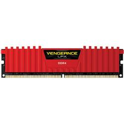 Memorie Corsair DDR4 Vengeance LPX Red 8GB 2666MHz CL16 1.20V