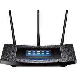 Router Wireless TP-Link TOUCH P5, 1xWAN Gigabit, 4xLAN Gigabit, 3 antene detasabile, dual-band AC1900 (1300/600Mbps), 1xUSB3.0, 1xUSB2