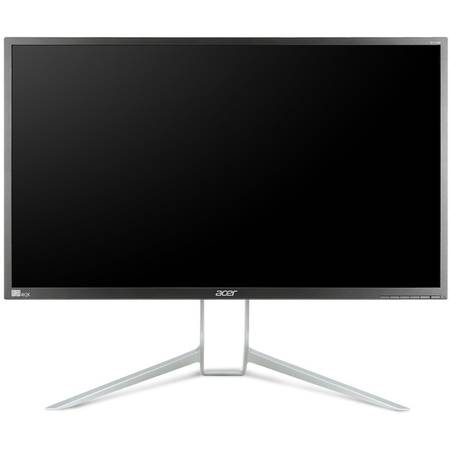 "Monitor 32"" ACER LED BX320HKymjdpphz, IPS panel, 3840x 2160, 16:9, 6 ms, 350 cd/mp, DP, mini DP, USB, boxe 2x2W, gri""is"
