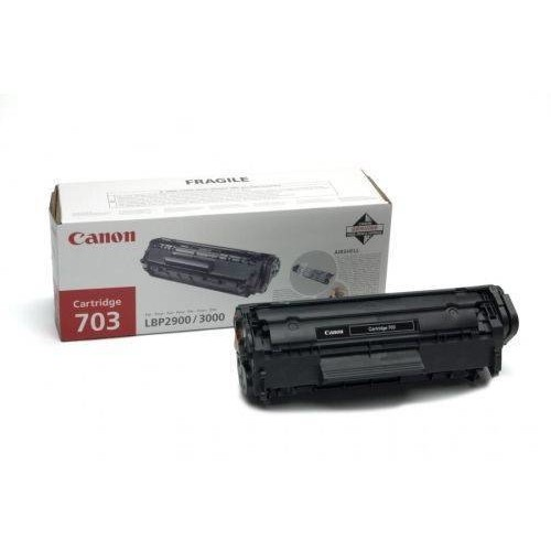 Canon Toner Crg703, Toner Cartridge For Lbp-2900/lbp-3000 (2000 Pgs, 5%) Cr7616a005aa