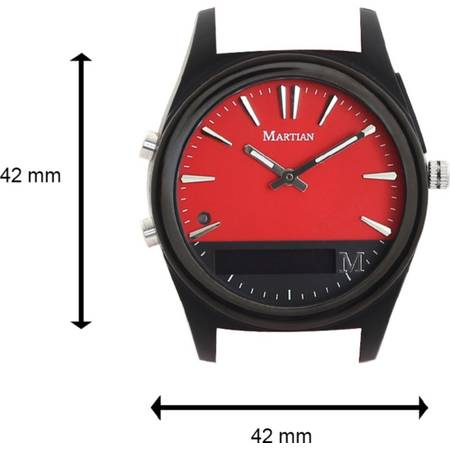 SMARTWATCH MARTIAN NOTIFIER RED