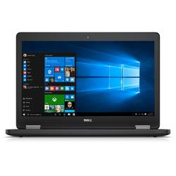 Laptop Dell 15.6'' Latitude E5570, HD, Intel Core i5-6200U (3M Cache, up to 2.80 GHz), 4GB, 500GB 7200 RPM, GMA HD 520, FingerPrint Reader, Win 7 Pro + Win 10 Pro