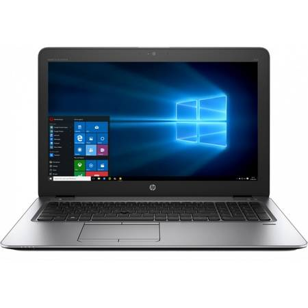 Laptop HP EliteBook 850 G3, 15.6'' FHD, Intel Core i5-6200U 3M Cache, up to 2.80 GHz, 4GB, 500GB, GMA HD 520, FingerPrint Reader, Win 7 Pro + Win 10 Pro