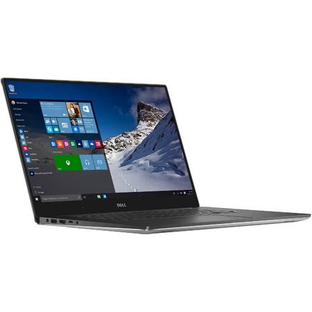 "Ultrabook Dell XPS 9550, 15.6"" UHD 4K, Touch, Intel Core i5-6300HQ 6M Cache, up to 3.20 GHz, Skylake, 8GB, 1TB + 32GB SSD, nVidia GeForce GTX 960M 2GB, USB C, Tastatura iluminata, Win 10"