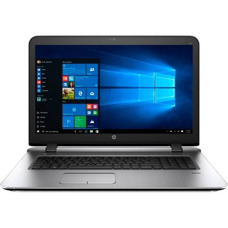 "Laptop HP ProBook 470 G3, 17.3""HD+, Intel Core i5-6200U 3M Cache, up to 2.80 GHz, Skylake, 4GB, 500GB, AMD Radeon R7 M340 2GB, FPR, Win 7 Pro + Win 10 Pro"