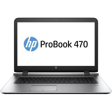 "Laptop HP ProBook 470 G3, 17.3"" FHD, Intel Core i7-6500U 4M Cache, up to 3.10 GHz, Skylake, 8GB, 1TB, AMD Radeon R7 M340 2GB, FPR, Win 7 Pro + Win 10 Pro"