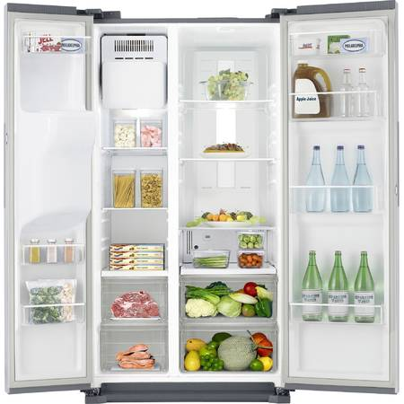 Side by side Samsung RS7547BHCSP/EF, 537 l, Clasa A+, No Frost, H 178.9, Inox