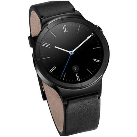 Smartwatch Huawei W1 Black - Black Leather