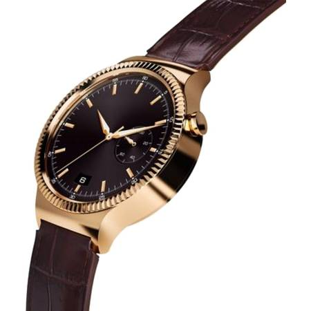 Smasrtwatch Huawei W1 Golden - Brown Leather