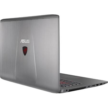 "Laptop ASUS ROG GL752VW-T4018D, 17.3"" FHD, Intel Core i7-6700HQ, up to 3.50 GHz, 32GB, 2TB + 128GB SSD, GeForce GTX 960M 4GB, FreeDos, Black-Grey"
