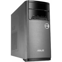 Sistem Desktop ASUS M32CD-RO017D, Procesor Intel Core i7-6700 3.4GHz Skylake, 8GB DDR4, 2TB HDD, Radeon R9 370 2GB, Free Dos, Black
