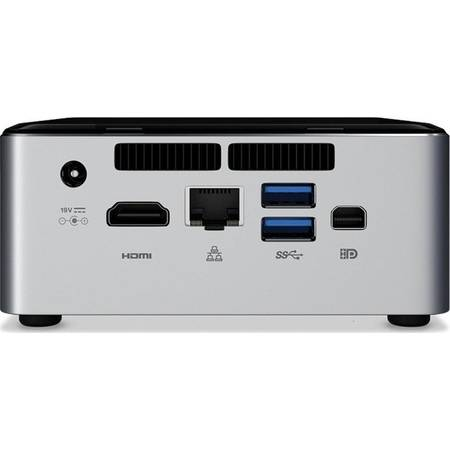 Mini Desktop Intel, Intel Core i5-6260U 1.8GHz, 2x DDR4 32GB max, M.2 SSD, HDD 2.5 inch, Wi-Fi, Bluetooth, HDMI, Mini DisplayPort, USB 3.0