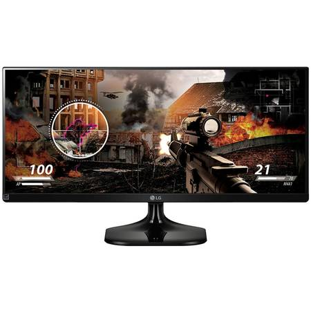 "Monitor LED LG 25UM58-P 25"" 5ms black"