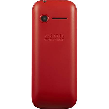 Telefon Mobil ALCATEL ONETOUCH 1052, Dual Sim, Deep Red