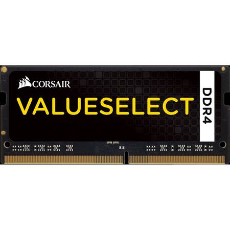 Memorie notebook Corsair ValueSelect, 4GB, DDR4, 2133MHz, CL15, 1.2v