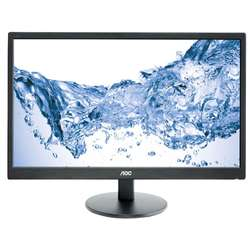 "Monitor LED AOC 23.6"", Wide, Full HD, HDMI, Negru, E2470SWH"