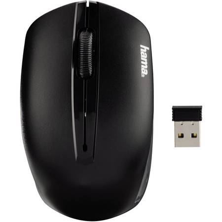 Mouse Wireless Hama AM-7400, USB, Negru