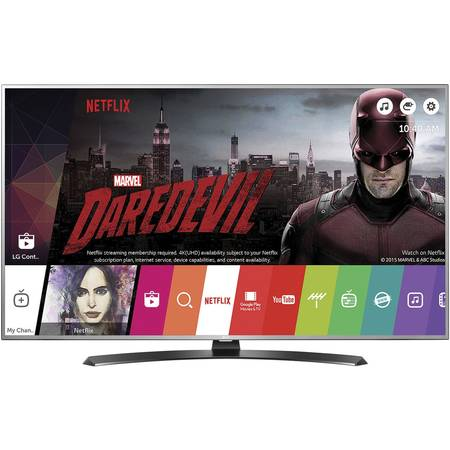 Televizor LED LG 43UH668V , 108 cm, Smart , 4K Ultra HD , WiFi