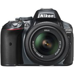 Aparat foto DSLR Nikon D5300, 24,2MP Black + Obiectiv AF-P 18-55mm VR