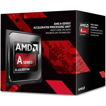 Procesor AMD Kaveri Refresh, A10-7870K Black Edition 3.9GHz Quiet Cooler, box