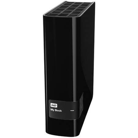 Western Digital Hard disk extern WD My Book 8TB USB 3.0 Black