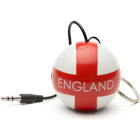 Boxa portabila KitSound Mini Buddy England Football, KSNMBENG