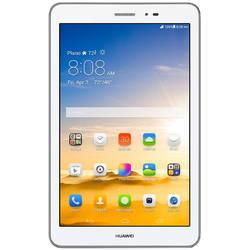 Tableta Huawei Mediapad T1 S8-701W, 8 inch IPS Multi-Touch, Cortex A7 1.2GHz Quad Core, 1GB RAM, 8GB flash, Wi-Fi, Bluetooth, GPS, Android 4.3, Silver White