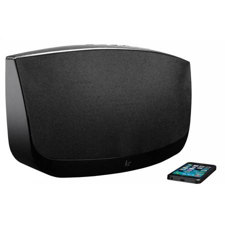 Sistem audio KitSound Evoke KSEVOKE, 2.1, Bluetooth, USB, NFC, Negru