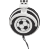 Casti audio cu banda KitSound MyDoodles Football