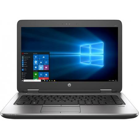Laptop HP ProBook 640 G2, 14'' FHD, Intel Core i5-6200U, up to 2.80 GHz, 8GB, 256GB SSD, GMA HD 520, FingerPrint Reader, Win 7 Pro + Win 10 Pro