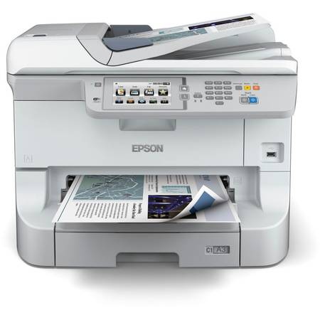 Multifunctional Epson WorkForce Pro WF-8510DWF, Fax, A3+, 34 ppm A4, Duplex, ADF, Retea, Wireless