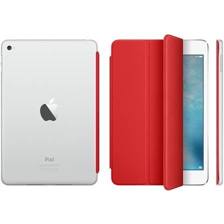 Husa Stand Apple Smart Cover pentru iPad mini 4, MKLY2ZM/A (PRODUCT)Red