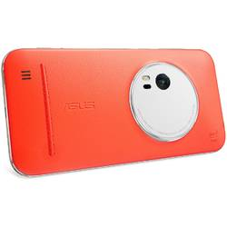 Husa de protectie Asus Flip Leather Case pentru Zenfone Zoom ZX551ML, 90AC0100-BBC005 Orange