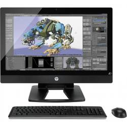"Sistem Desktop All-In-One HP PC Z1 G2, 27"" QHD, Procesor Intel Xeon E3-1226 v3 8M Cache, 3.30 GHz, 8GB, 256GB SSD, Intel HD Graphics P4600, Win 8.1 Pro"
