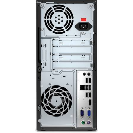 Sistem Desktop HP ProDesk 400 G3 MT, Procesor Intel Core i3-6100 3M Cache, 3.70 GHz, Skylake, 4GB, 500GB, Intel HD Graphics, Tastatura + Mouse + Monitor V212a