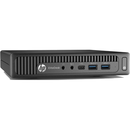 Mini Sistem Desktop HP EliteDesk 800 G2, Procesor Intel Core i5-6500T 6M Cache, up to 3.10 GHz, Skylake, 4GB, 500GB, Intel HD Graphics 530, Win 7 Pro, Tastatura+Mouse