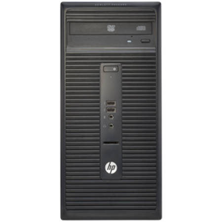 "Sistem Desktop HP 280 G1 MicroTower, Procesor Intel Core i3-4160 3M Cache, 3.60 GHz, Haswell, 4GB, 500GB 7200rpm, Intel HD Graphics 4400, Win10 Pro 64, Tastatura+Mouse + Monitor 20.7"" V212a"