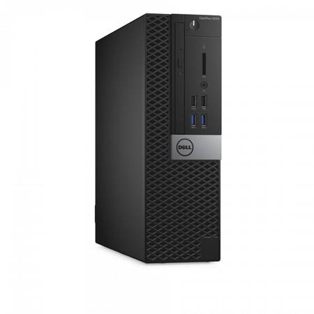 Sistem Desktop Dell OptiPlex 5040 SFF Procesor Intel Core i7-6700 8M Cache, up to 4.00 GHz, Skylake, 8GB, 500GB , Win 7 Pro + Win 10 Pro, Tastatura+Mouse