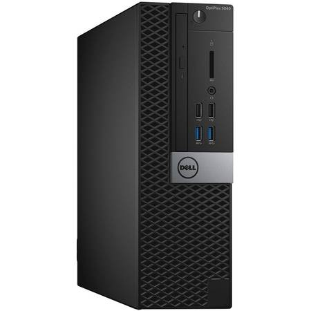 Sistem Desktop Dell OptiPlex 5040 SFF Procesor Intel Core i7-6700 8M Cache, up to 4.00 GHz, Skylake, 8GB, 500GB , Ubuntu, Tastatura+Mouse