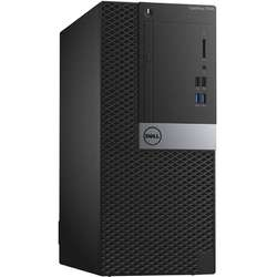 Sistem Desktop Dell OptiPlex 7040 MT Procesor Intel Core i5-6500 6M Cache, up to 3.60 GHz, Skylake, 4GB, 500GB , Ubuntu, Tastatura+Mouse