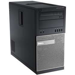 Sistem Desktop Dell OptiPlex 9020 MT Procesor Intel Core i7-4790 8M Cache, up to 4.00 GHz, Haswell, 16GB, 256GB SSD, Intel HD Graphics, Win7 Pro + Win 10 Pro, Mouse + Tastatura
