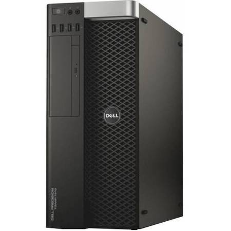 Sistem Workstation Dell Precision Tower 7810 Procesor Intel Xeon E5-2650 v3 25M Cache, 2.30 GHz, Haswell, 32GB, 1TB  + 256GB SSD, nVidia Quadro K5200 8GB, Win 7 Pro + Win 8.1 Pro, Tastatura+Mouse