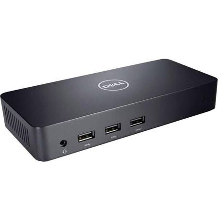 Docking Station Dell D3100, USB 3.0, Ultra HD, Triple Video