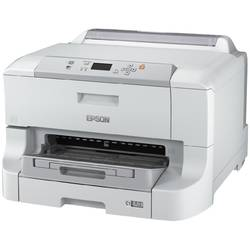 Imprimanta inkjet color Epson Workforce WF-8090DW, Format A3+, Fax, Retea, Wi-Fi, Duplex