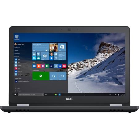 "Laptop Dell Latitude 5570, 15.6"" HD, Intel Core i5-6200U 3M Cache, up to 2.80 GHz, Skylake, 4GB, 500GB, Intel HD Graphics 520, FPR, Ubuntu"