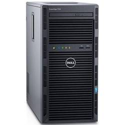 Server Dell PowerEdge T130 Procesor Intel Xeon E3-1220 v5 8M Cache, 3.00 GHz, Skylake, 4GB 2133MHz, DDR4, UDIMM, HDD 1x1TB , SATA, PERC H330, 290W PSU