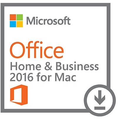 Microsoft Office 2016 Home and Business pentru MAC, Licenta Electronica, All languages, FPP, Retail