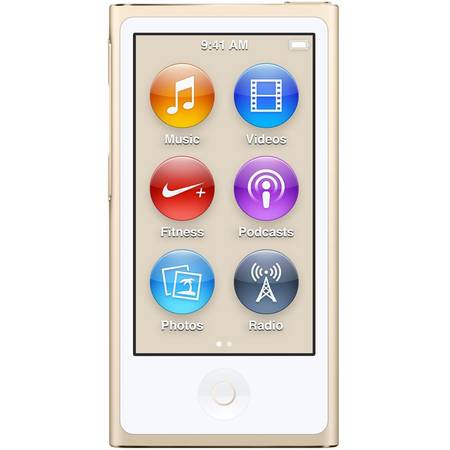 Apple iPod Nano 16gb, Auriu