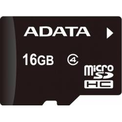 ADATA Card de Memorie A Data microSDHC 16GB Class 4 + Reader OTG