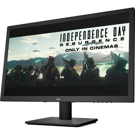 "Monitor LED AOC 23.6"", Full HD, DVI, HDMI, E2475SWJ"